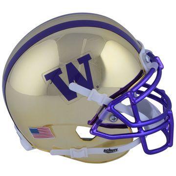 Washington Huskies Schutt Gold Mini Football Helmet