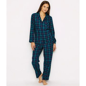 Plaid Flannel Pajama Set