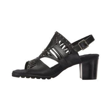 Walking Cradles Womens Nanda Leather Open Toe Casual