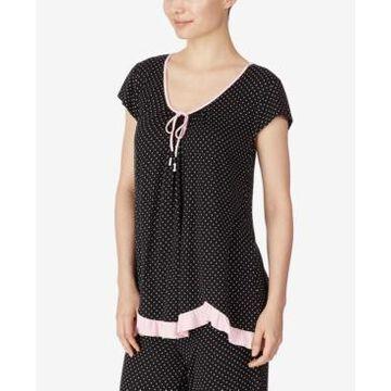 Ellen Tracy Knit Pajama Top
