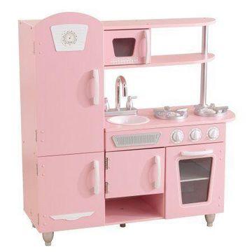 KidKraft Vintage Play Kitchen - Pink W