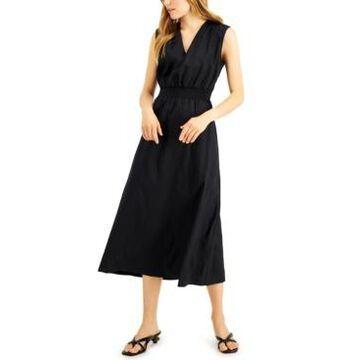 Alfani V-Neck Sleeveless Dress, Created for Macy's
