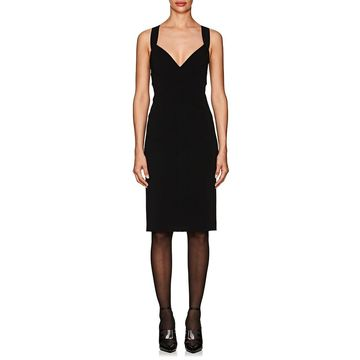 Narciso Rodriguez Compact-Knit Fitted Dress