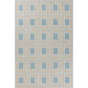 Libby Langdon Soho By Brick Spa/Pumice Wool Rug