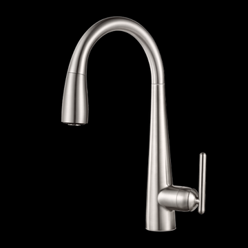 Pfister Lita 1-Handle Pull-Down Kitchen Faucet Stainless Steel