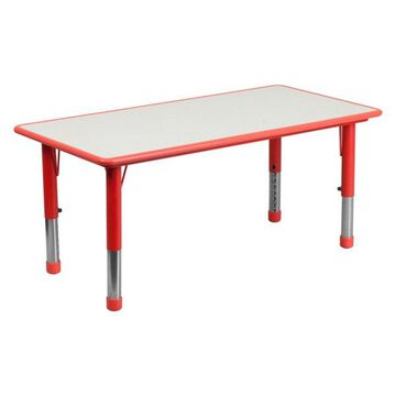Flash Furniture Red Activity Table