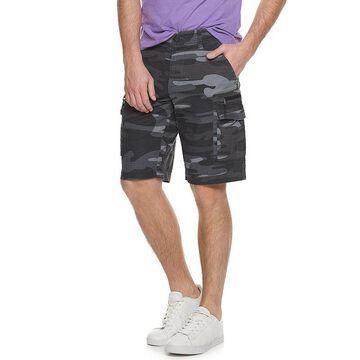 Men's Urban Pipeline Stretch Ripstop Ultraflex Cargo Shorts, Size: 28, Black