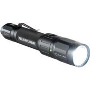 Pelican 2380R Tactical Rechargeable LED Flashlight, 305 Lumens, Black