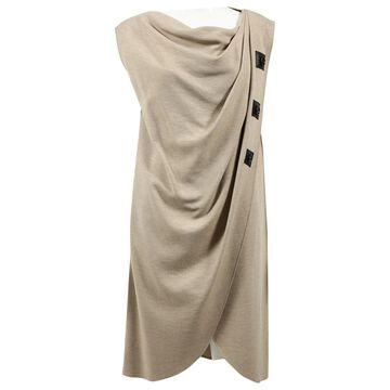 Derek Lam Beige Wool Dresses