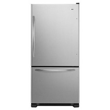 Amana Stainless Steel Bottom Freezer Refrigerator