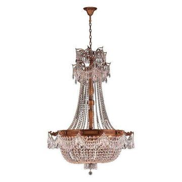 Worldwide Lighting Large Chandelier