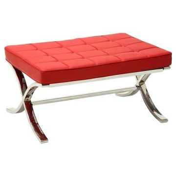 Ottomans Acme Furniture Red