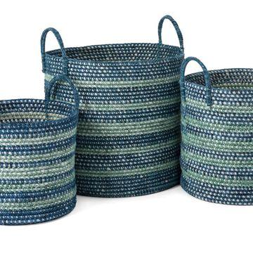 IMAX 23219-3 Cottage Baskets - Set of 3
