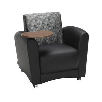 OFM Social Seating Guest Reception Waiting Room Chair with Single Tablet