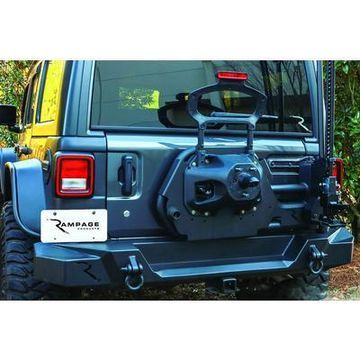 Rampage Trail Guard Spare Tire Carrier - 9950917