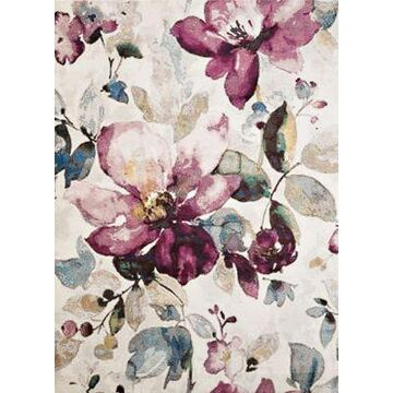 United Weavers Rhapsody Floral Garden Tufted 9' x 12' Area Rug in Multi
