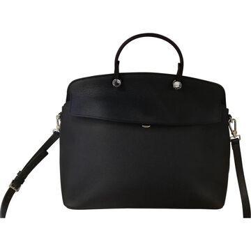 Furla Black Leather Handbags