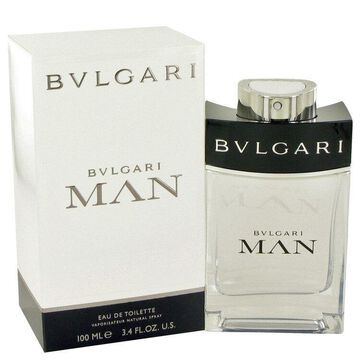 Bvlgari Man by Bvlgari Eau De Toilette Spray 3.4 oz for Men (Package of 2)