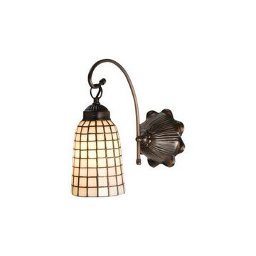 Meyda Tiffany 18643 Geometric Down Lighting Wall Sconce