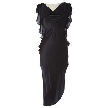 L'agence Black Silk Dresses