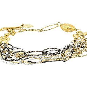 Chan Luu Mixed Metal Adjustable Chain Bracelet Bracelet