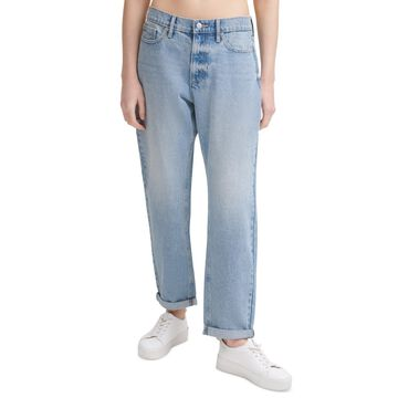 Calvin Klein Jeans Cotton Boyfriend Jeans