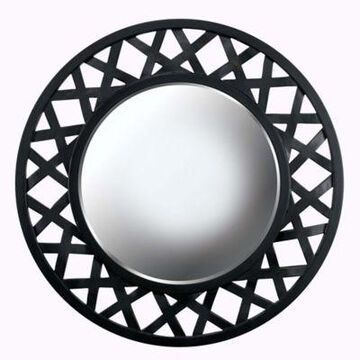 Kenroy Home Heltor 34-Inch Round Wall Mirror