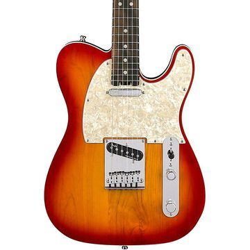 Fender American Elite Telecaster Ebony Fingerboard Electric Guitar Aged Cherry Burst