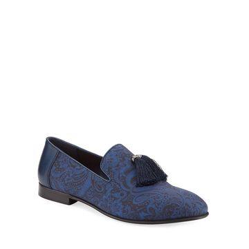 Men's Eduardo Paisley Tassel Loafers