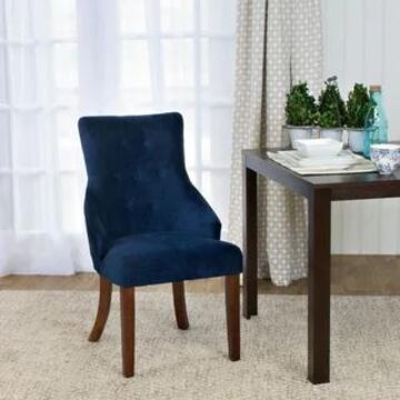 HomePop Emily Accent Chair (Navy)