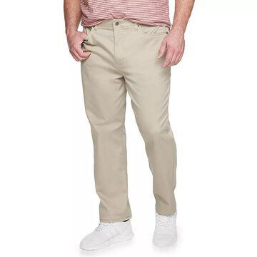 Big & Tall Sonoma Goods For Life Regular-Fit 5-Pocket Knit Pants, Men's, Size: 50X29, Med Beige