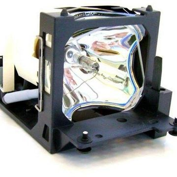 Hitachi CP-S420 Projector Housing with Genuine Original OEM Bulb