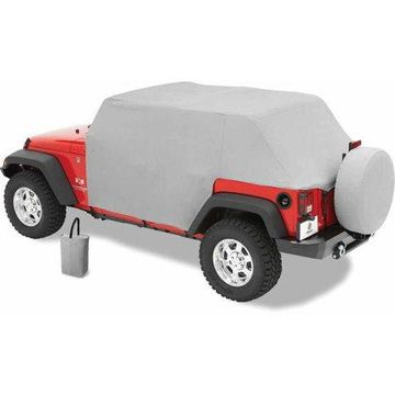 Bestop 81041-09 Jeep Wrangler Unlimited All Weather Trail Cover, Charcoal