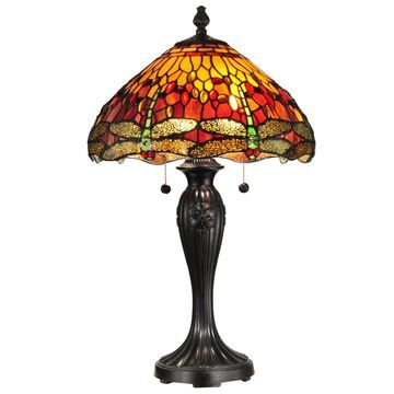 Dale Tiffany Reves Dragonfly Table Lamp