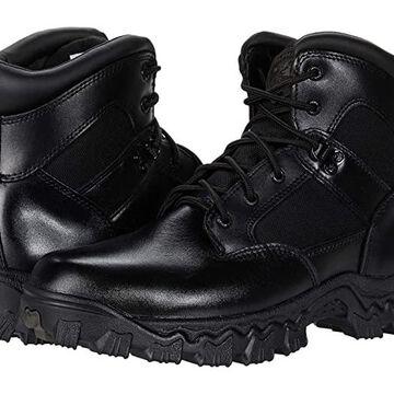 Rocky Alpha Force Waterproof 6 Public Service Soft Toe Boot (Black) Boots