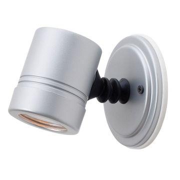 Access Lighting Myra 1-light Silver Wall Sconce