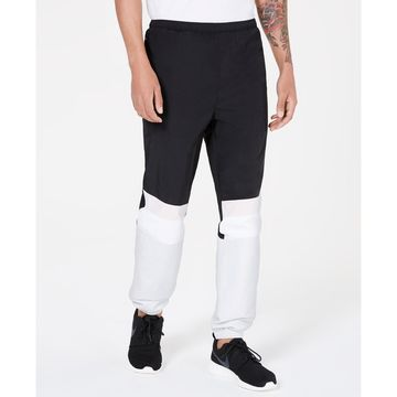 Men's Colorblocked Woven Joggers, Created for Macy's