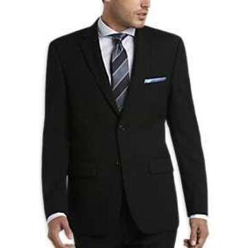 Pronto Uomo Black Modern Fit Suit
