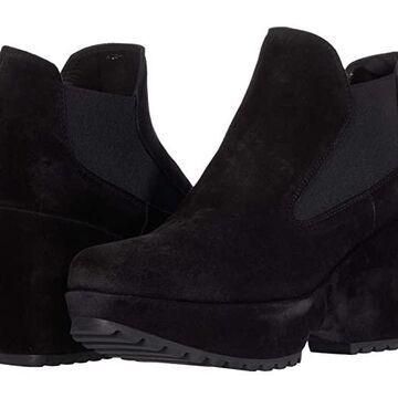 Pedro Garcia Fiala (Black Velour) Women's Shoes