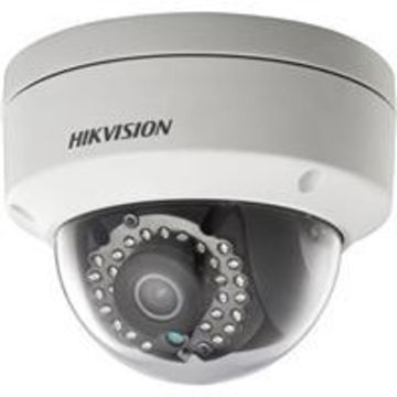 Hikvision DS-2CD2122FWD-IS 2MP Outdoor Day Night Fixed Network Dome Camera, Audio/Alarm IO, 1920x1080, 30fps at 60Hz, , H.264, H.264+, MJPEG, PoE 4mm Lens