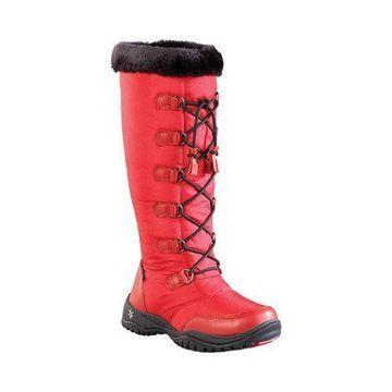 Women's Baffin Eska Snow Boot Red
