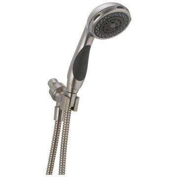 Delta Stainless 3-Spray Handheld Shower 2.5-GPM (9.5-LPM) | 56613-SS