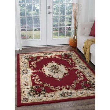 Bliss Rugs Angelique Traditional Indoor Area Rug