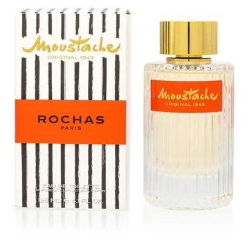 Moustache/Rochas EDT Spray 4.1 Oz (125 Ml) (M) (EDT Eau De Toilette - Men's - Citrus)