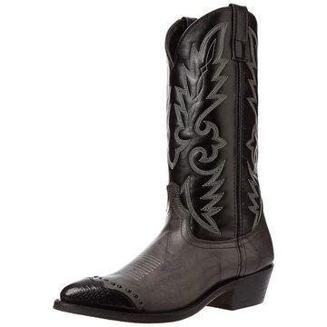 Laredo Mens Flagstaff Western Boot, Adult, Rust