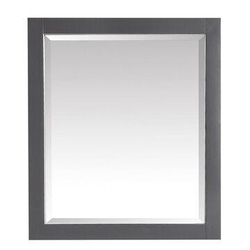 Avanity Allie/Austen 28-in Twilight Gray Rectangular Bathroom Mirror