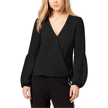 bar III Womens Blouson Sleeve Knit Blouse