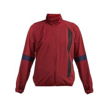 Calvin Klein Performance - Logo Technical Crepe Jacket - Womens - Burgundy Multi