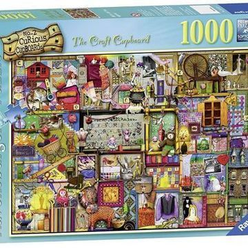 Ravensburger The Craft Cupboard Puzzle 1000-Piece