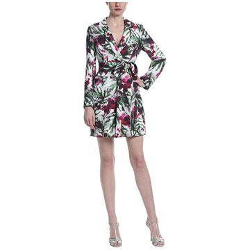 Badgley Mischka Print Suit Dress